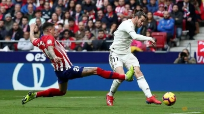 Bale reaches 100-goal milestone as Real beat Atletico 3-1