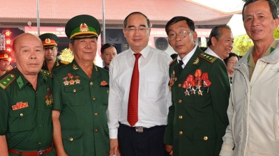 Get-together recalls revolutionary tradition of Ho Chi Minh City