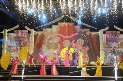 Various activities held to welcome Lunar New Year