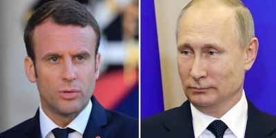 Putin, Macron agree to continue coordination on Syrian peace process