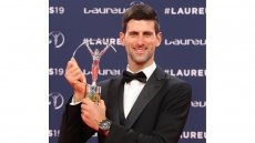 Tennis player Djokovic, gymnast Biles win top Laureus awards