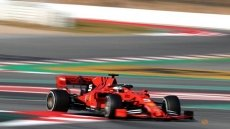 Vettel gets Ferrari off to strong start in F1 testing