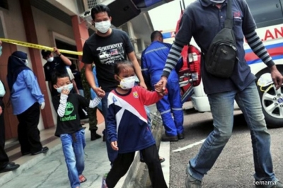 More schools closed in Malaysia's Johor state due to chemical pollution