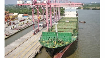 HCM City port welcomes largest-ever container ship