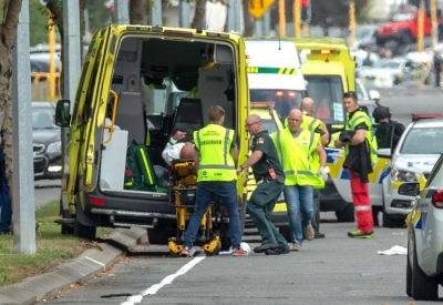 Forty dead, 20 seriously wounded in NZ mosque shootings
