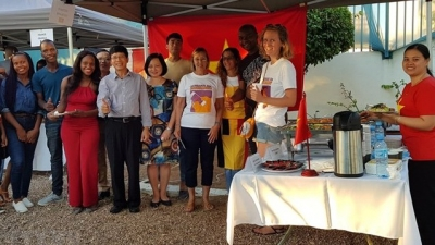 Vietnam represented at French language week in Mozambique