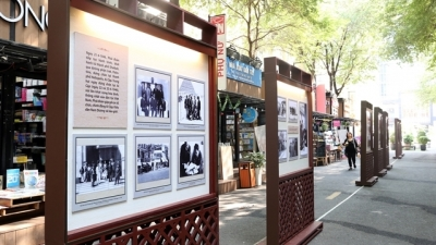 Exhibition recalls Vietnamese NA delegation's first visit to France