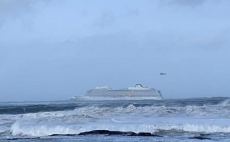 Cruise ship stalled off Norway, passengers evacuated