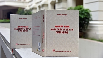 Top Vietnamese leader's book on anti-corruption published