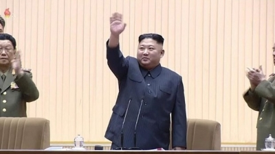 Congratulations to Kim Jong Un on re-election as head of DPRK state panel