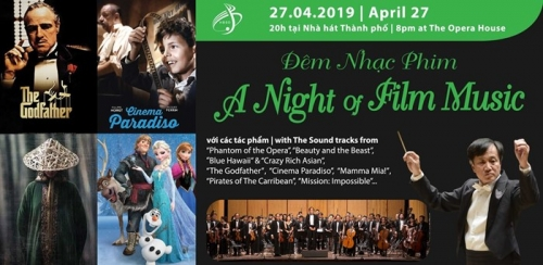 April 22-29: A Night of Film Music in HCMC
