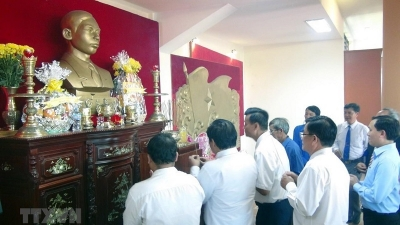 Late General Secretary Tran Phu's 115th birthday marked in Phu Yen province