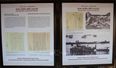 Exhibition on imperial workshop under Nguyen's Dynasty opens