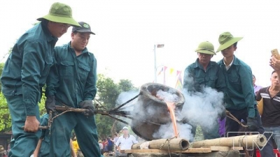 Thanh Hoa province launches bronze drum casting contest