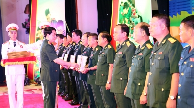 Nearly 250 creative works of military youth honoured