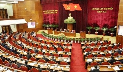 First working day of Party Central Committee's 10th meeting