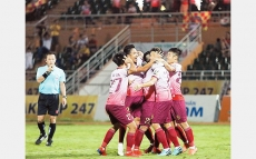 V.League: Three-star win lifts Saigon FC to third place