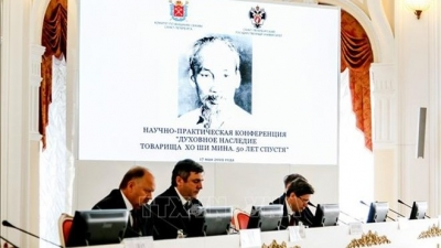 President Ho Chi Minh's spiritual heritage highlighted in Russia