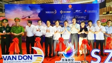 Van Don Airport welcomes its first international flight