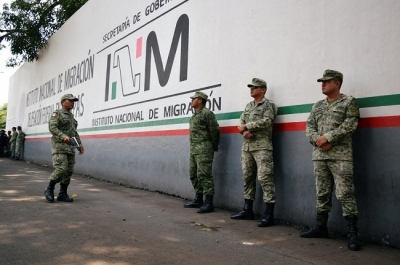 Mexico foreign minister says national guard to deploy to southern border