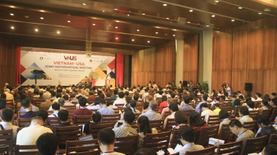 Vietnam-USA Joint Mathematical Meeting opens