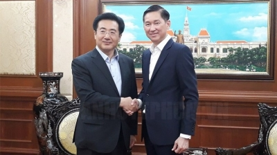 HCM City leader suggests promoting links with RoK localities