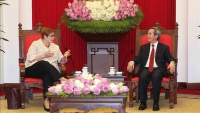 Vietnam promotes strategic partnership with Australia: Politburo member