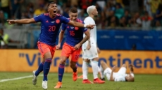 Martinez cracker helps Colombia past Argentina
