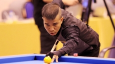 Vietnamese cueists compete in Blankenberge World Cup 2019