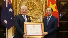 Friendship Order bestowed upon Australian Ambassador