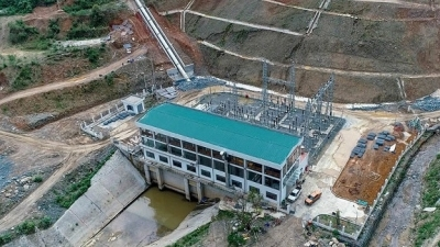 Two hydropower plants begin operation in Nghe An