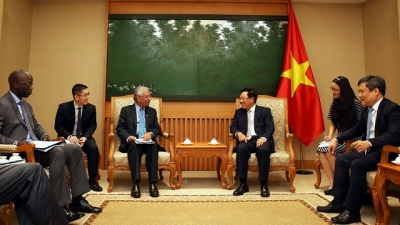 Vietnam hopes for further support in access to ODA: Deputy PM