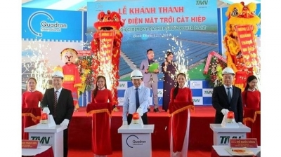 First solar power plant in Binh Dinh inaugurated