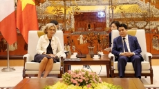Hanoi enhances cooperation with French capital region