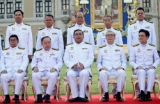 Thailand's new cabinet ministers sworn in