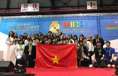 Vietnam wins gold medals at WICO 2019