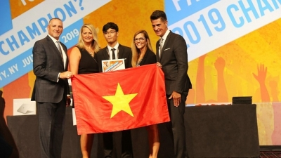 Vietnamese student grabs bronze at Microsoft Office Specialist World Championship