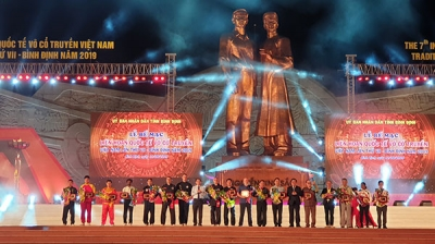 International traditional martial arts festival closed in Binh Dinh