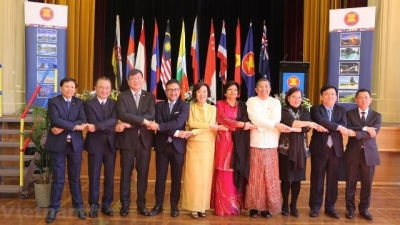 Ceremony marks 52nd anniversary of ASEAN in Australia
