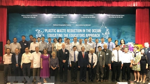 Workshop discusses plastic waste reduction in ocean