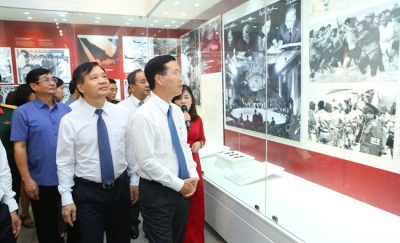 Exhibition highlights implementation of President Ho Chi Minh's testament