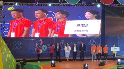 Vietnam finishes third at 2019 ABU Robocon in Mongolia