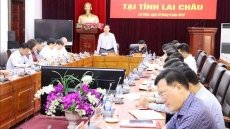 PM's Working Group works with Lai Chau leaders