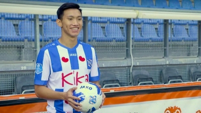 Promising fullback Van Hau on loan at Dutch top division's SC Heerenveen