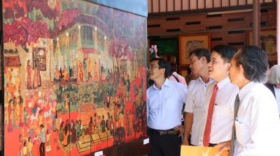 "Fine art exhibition ""Cultural Heritage"" opens in Quang Nam"