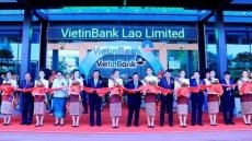 VietinBank inaugurates headquarters in Laos