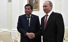 Philippine President Duterte to revisit Russia next month