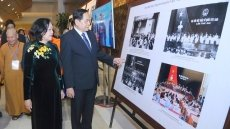 Exhibition extols VFF's contributions to promoting great national solidarity bloc