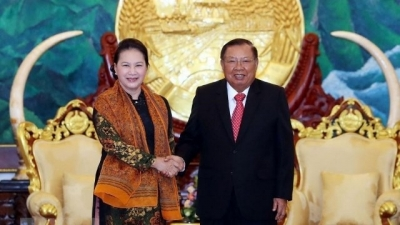 September 23-29: NA Chairwoman visits Laos