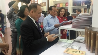 More valuable books on Hanoi displayed